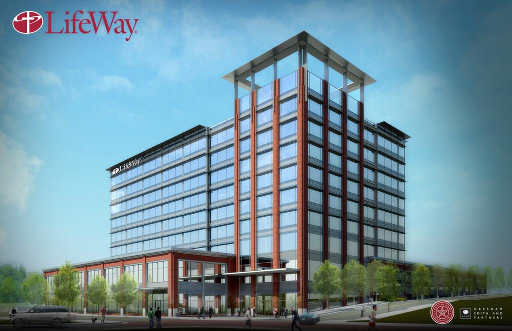 New LifeWay HQ Plans Revealed