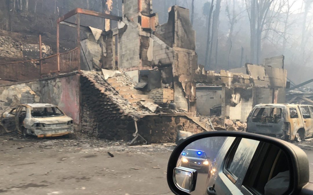 Wildfires Ravage Tennessee Homes & Churches and an Interview with Dr. Matthew Hall