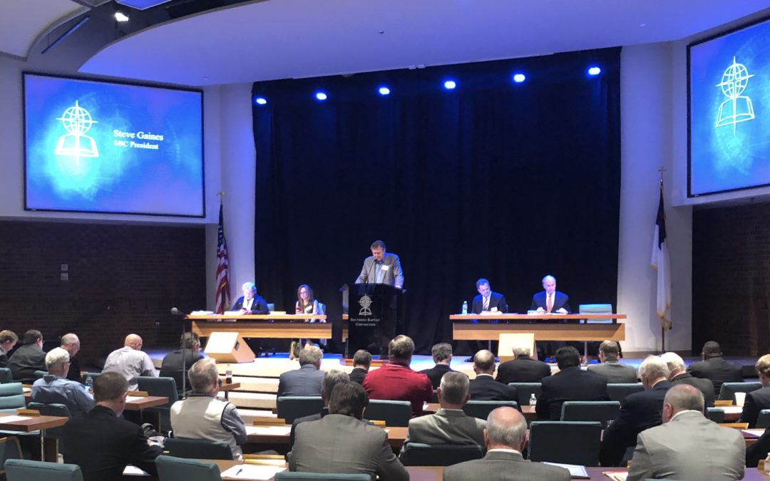 SBC Executive Committee Chooses Presidential Search Team