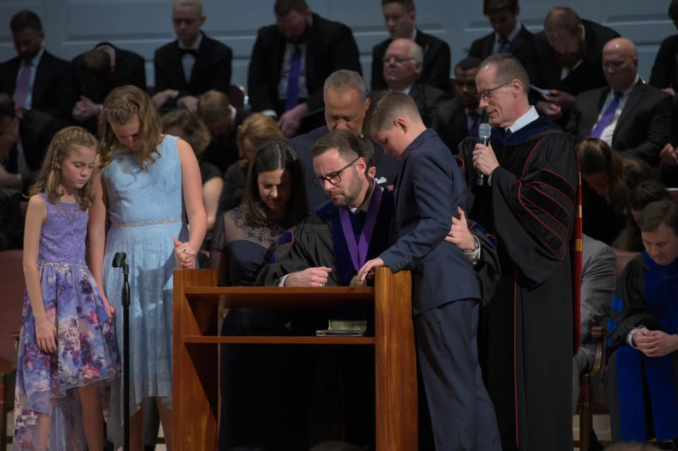 Dew inaugurated at NOBTS; an interview with George Schroeder