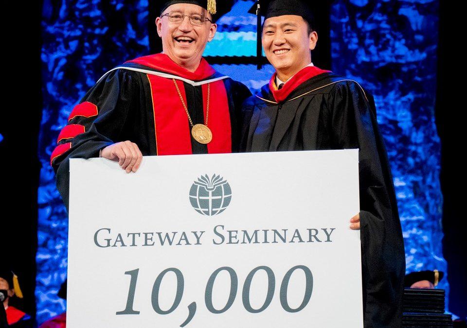 Gateway celebrates 10,000th graduate; SBTC gives $500,000 to Cooperative Program