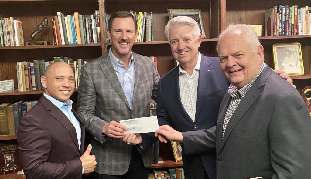 Million dollar gift from Prestonwood to fund IMB work with Muslims; CP giving still above budget